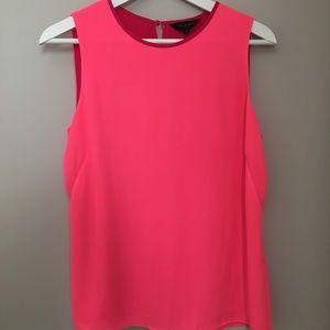 Ted Baker sleeveless shirt, size 1